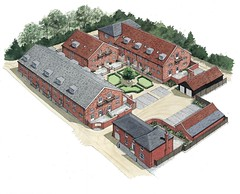 """Aerial View, Maltings Develp. Woodbridge • <a style=""""font-size:0.8em;"""" href=""""http://www.flickr.com/photos/64357681@N04/5866272748/"""" target=""""_blank"""">View on Flickr</a>"""