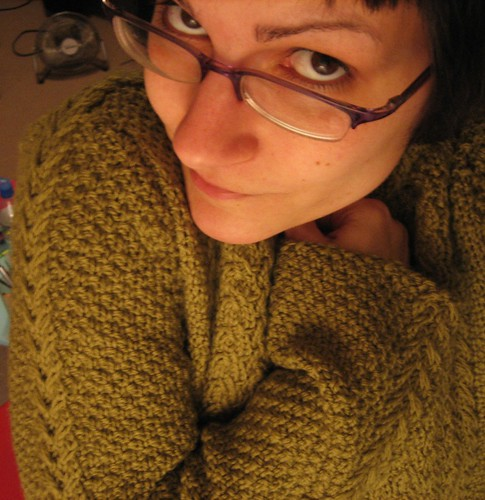 080308. cozy and warm! threepenny pullover.