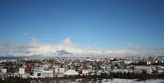 Mount Esja and Reykjavik (Thorlakur) Tags: iceland thepearl reykjavik perlan
