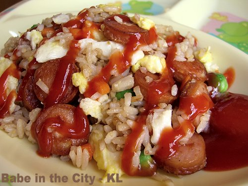 Sausages Fried Rice