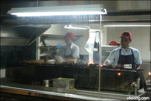 BBQ satay kajang