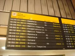 Templehof Departures
