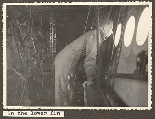 Zona inferior de trabajo del Hindenburg
