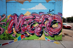 pt1 : Mecro (damonabnormal) Tags: street city urban streetart art philadelphia june graffiti nikon mural tag tags spray urbanart writer spraypaint philly graff 2008 girard phl 215 sigma1020mm girardave mecro d80 philadelphiastreetart graffitiwriter philadelphiagraffiti philadelphiaurbanart
