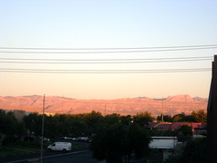 Las Vegas Morning Alpenglow