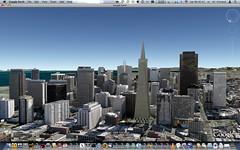 San Francisco Skyline (Google Earth)