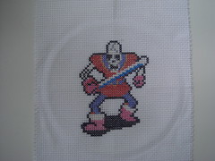 Wraith Knight (benjibot) Tags: crossstitch crafts videogames nes dragonwarrior