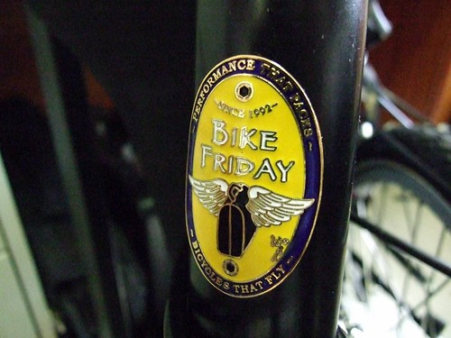Bike Friday Badge
