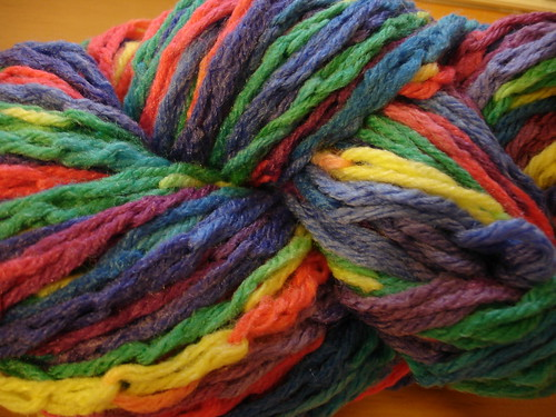 Chainstitched Mystery Yarn
