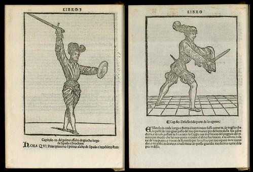 L'arte de l'Armi by Achille Marozzo, 1536