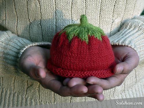 Tomato Baby Hat