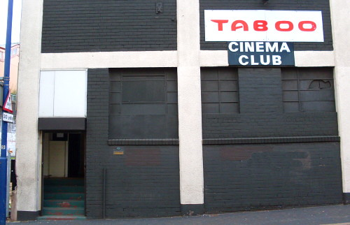 Taboo Cinema Club Birmingham