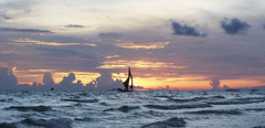 Bangka Sailing in Boracay (francis.aldana) Tags: travel sunset vacation sun beach lost island freedom paradise philippines oasis tropical sail boracay saiboat