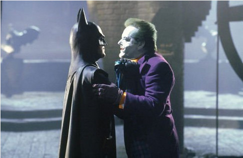 Batman and Joker 1989