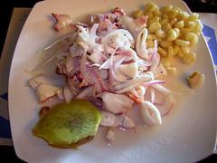 Ceviche at Punto Azul, Benavides