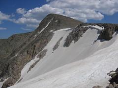 Hallet's Peak & Tyndall Glacier