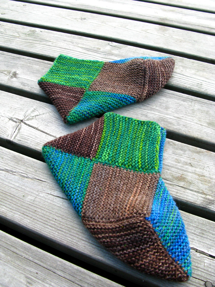 8-square socks