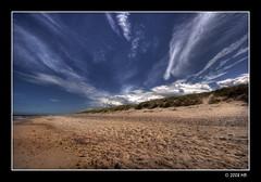 on the beach (Mariusz Petelicki) Tags: beach poland polska hdr canonefs1022mm plaża 3xp pomorze rowy canon400d mariuszpetelicki