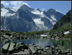 Rinnensee (Cold Mountain) Tags: mountain lake landscape glacier stubai