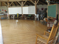 Inside the Council Hall (gerryblog) Tags: ecovillage earthaven
