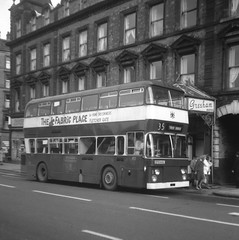 Nottingham 'Standard', Daimler Fleetline. (Renown) Tags: nottingham buses greshamhotel coaches nottinghamshire doubledecker daimler fleetline nottinghamcitytransport eastlancs northerncounties crg6 nottinghamcorporationtransport eto163l nottinghamstandard