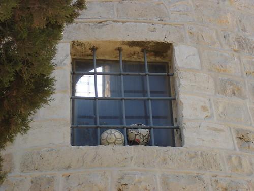 window jerusalem soccerball mishkenotshaananim