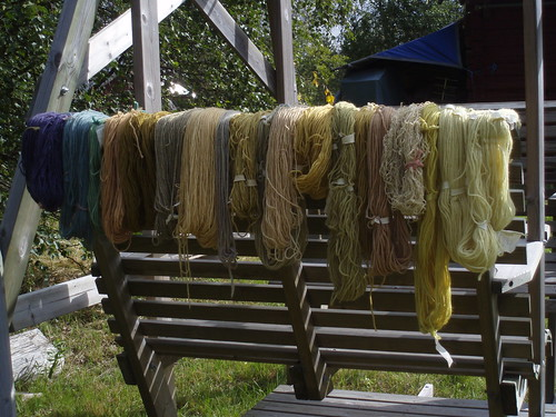 plant-dyed yarn