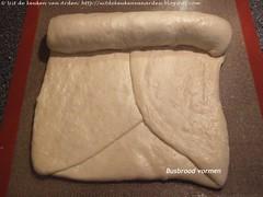 Busbrood vormen