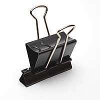 Binder Clips into Office Weapons