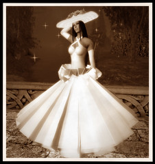 Pureza (VP Style) Tags: wedding woman fashion model avatar sl freda