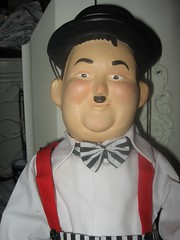 Oliver Hardy Marionette (BreezeB) Tags: doll marionette hardy