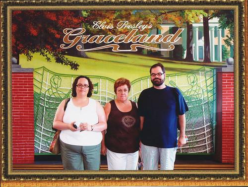 Posing at Graceland