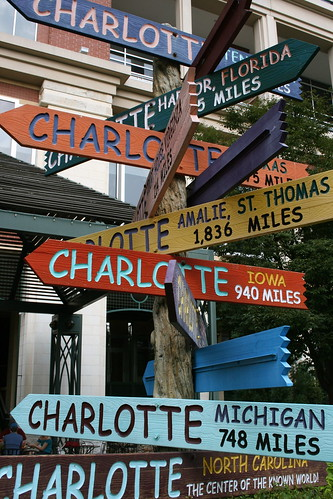 which way to charlotte?