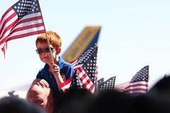 rally_3959 (josh:taber) Tags: america election colorado rally jet center flags presidential springs republican 2008 mccain palin