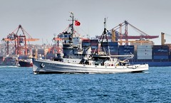 (Ivan S. Abrams) Tags: coastguard docks turkey boats nikon mediterranean ataturk ships istanbul maritime getty lighters nikkor tugs straits ports nikondigital blacksea gallipoli ferries harbors watercraft bosphorus tugboats gettyimages vessels freighters tankers harbours cruiseships barges smrgsbord smorgasbord warships destroyers ferryboats navyships speedboats frigates internationaltrade classicboats seaofmarmara navies containerships portcities navalvessels bulkcarriers nikonprofessional chokepoints onlythebestare boatnerd ivansabrams trainplanepro nikond300 internationalshipping sealanes ivanabrams worldwideshipspotters servicecraft gettyimagesandtheflickrcollection smorgasborf feriobots coastalfreighters marinecommerce internationalcommerce maritimecommerce seaportsseaportmaritime crossroadsasiaeuropebosforbogazasia minorboxesintermodal tugobats copyrightivansabramsallrightsreservedunauthorizeduseofthisimageisprohibited tucson3985gmailcom copyrightivansafyanabrams2009allrightsreservedunauthorizeduseprohibitedbylawpropertyofivansafyanabrams unauthorizeduseconstitutestheft thisphotographwasmadebyivansafyanabramswhoretainsallrightstheretoc2009ivansafyanabrams