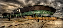 Echo Arena (BarneyF) Tags: sky panorama building architecture liverpool hdr merseyside visiongroup echoarena