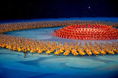 Closing Ceremony Olympics 2008 (Fispace) Tags: china blue red yellow gold beijing games olympic olympics