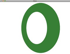 rotated ellipse