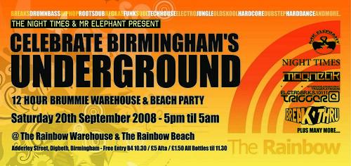 Celebrate Birminghams Underground