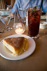 Blackberry Mojito and Bread