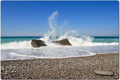 259/366 11:45 (icqipsy) Tags: autumn sea sky beach water stone canon landscape freedom 1740mm lightroom       abkhazia  gagra   400d  icqipsy