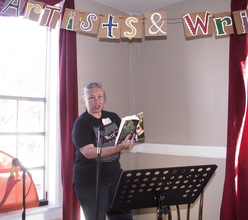 Elissa Malcohn Reads at Deep Carnivale