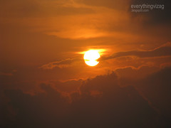 sunset in vizag (vizagstuff) Tags: sunset beach landscape vizag