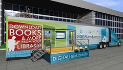Digital Bookmobile exterior