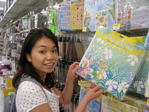 Hawaii Scrapbook Shopping at Walmart