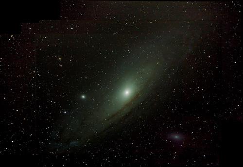 Andromeda Widefield on 1/24/09 | Flintstone Stargazing