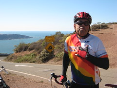 Alfred on Marin Headlands Summit IMG_1762.JPG Photo