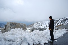 SNOW! (rayho) Tags: mountains ice nature clouds waterfall natural snowcapped pines scenary rivers glaciers wilderness picturesque mountainroad unspoilt grosglocknerhochalpenstrase