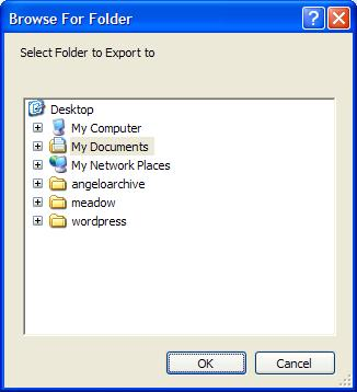 where to export