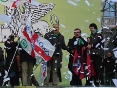 Milano 16 dicembre 2007 - Padania (Dovesi Alfredo) Tags: milano bergamo lombardia nord libert liberta maroni prodi bossi lega padania salvini calderoli pontida federalismo urgnano cappuccettoverde